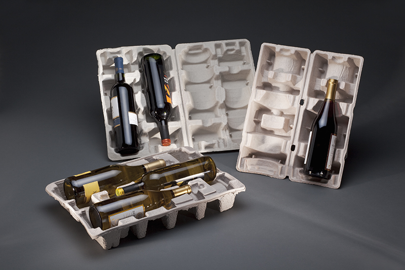 Wine Packs Molded Fiber Packaging by UFP Technologies