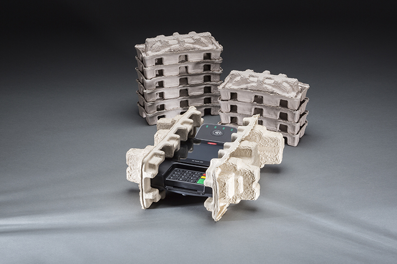 Point of Sale (POS) Terminal Molded Fiber Packaging by UFP Technologies