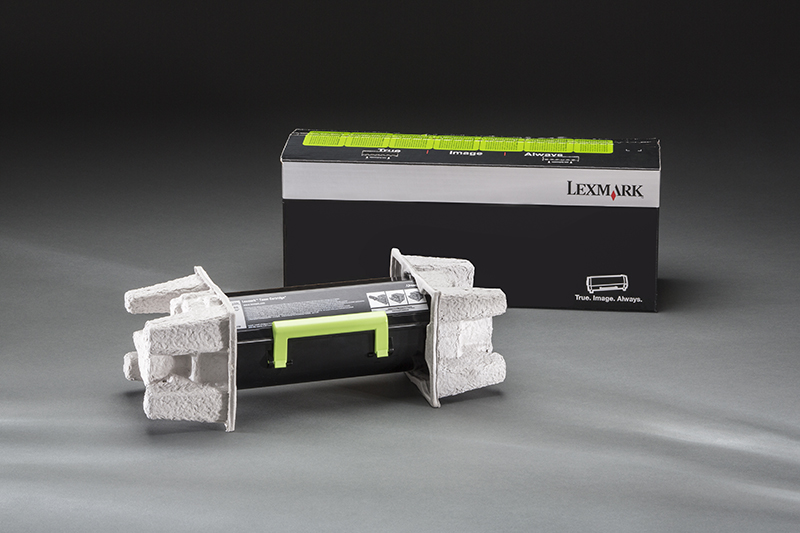 Toner Cartridge Molded Fiber Packaging by UFP Technologies